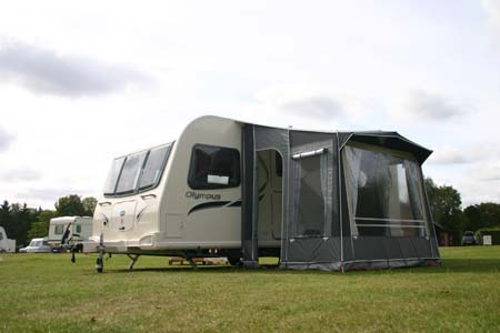 hints and tips on caravanning in bad weather