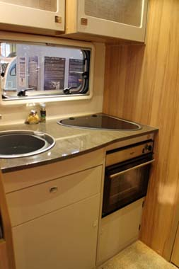 Bailey Approach Compact 540 Motorhome Kitchen