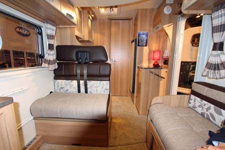 Bailey Approach Compact 540 Motorhome Rear View