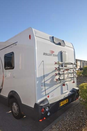 Roller Team T-Line 590 Motorhome Rear