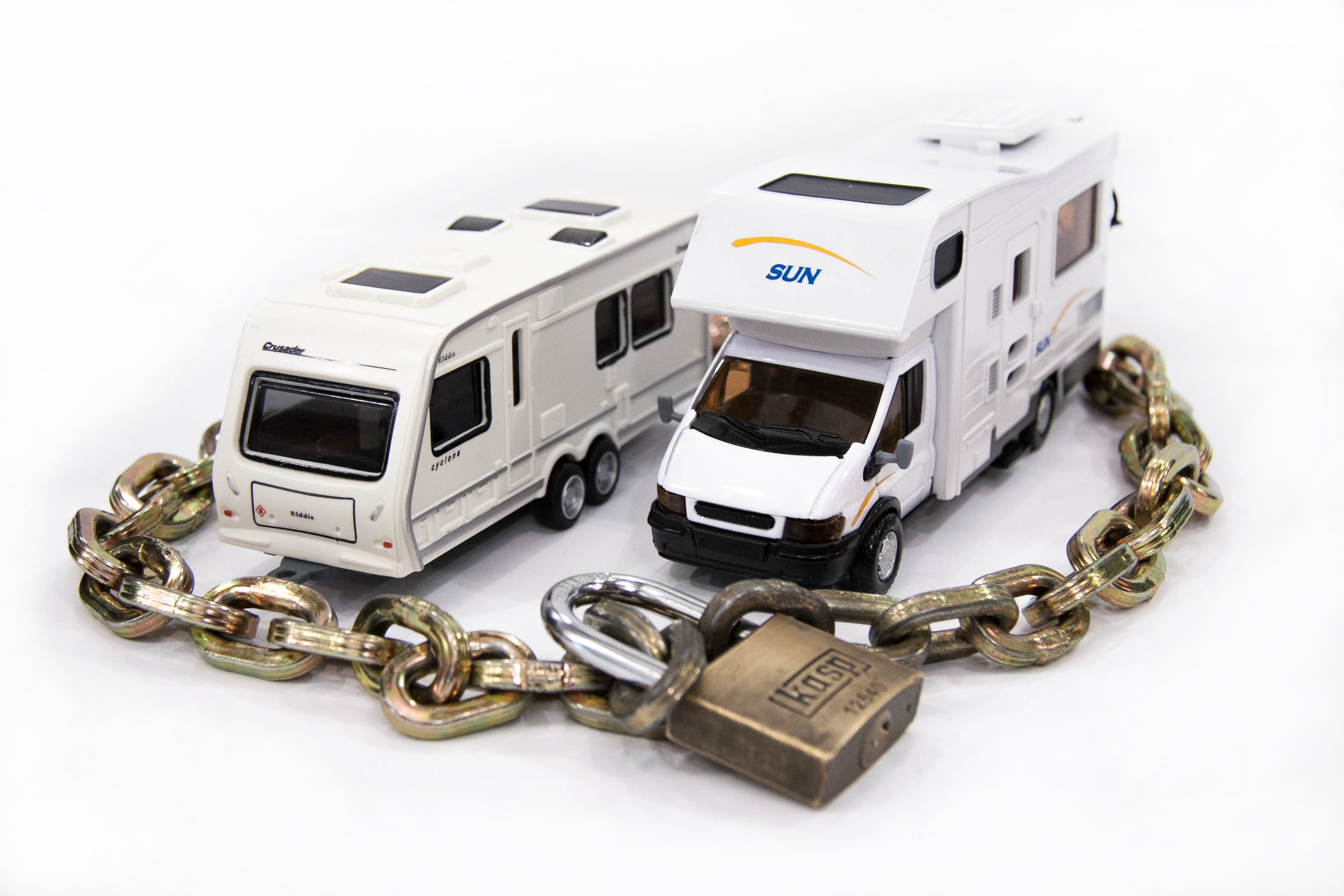 secure your caravan this winter