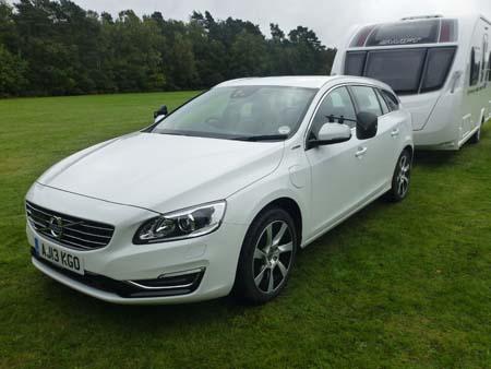 Volvo V60 Hybrid Front