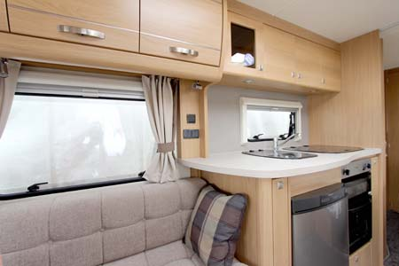 Elddis Compass Omega 540 Kitchen
