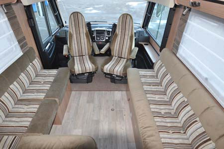 Pilote Reference G690LR Motorhome - front lounge area