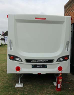 Swift Challenger SE 565 rear exterior