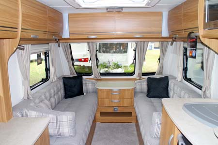 Lunar Lexon Caravan Lounge