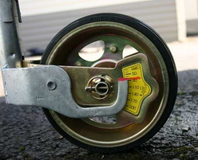 jockey wheel noseweight gauge