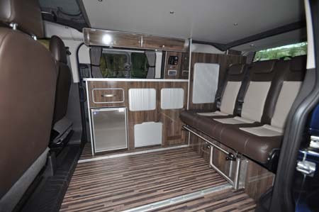 plenty of space inside the Wellhouse Terrier motohome