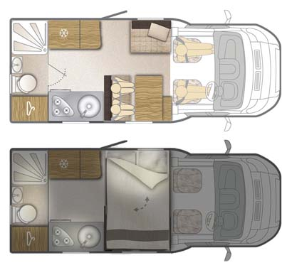 Bailey Approach Compact 540 Floor Plan