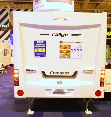Elddis Compass Rallye 554 rear
