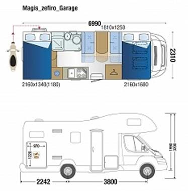 Roller Team Zefiro t690G Floor Plan