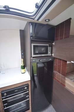 Adria Astella Amazon Glam motorhome kitchen 2