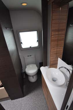 Adria Astella Amazon Glam motorhome shower room