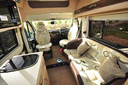 Auto-Sleeper Kingham interior