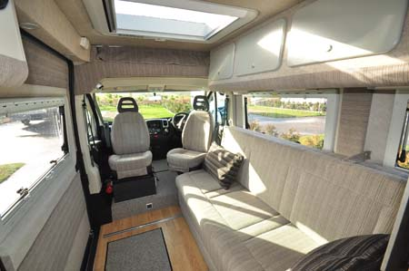 Murvi Morocco XL motorhome interior forward