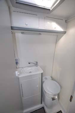 Murvi Morocco XL motorhome washroom
