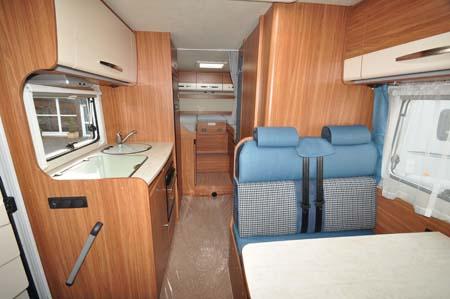 Carado T337 Motorhome Interior