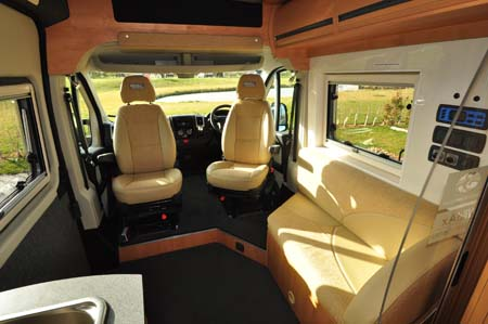 WildAx Callisto Independence Cab seating
