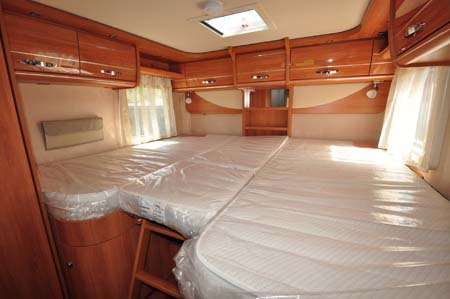 Hymer Starline Beds