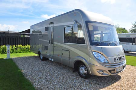 Hymer starline s b 680 s motorhome review putting a premium on a star hymer starline exterior asfbconference2016 Gallery