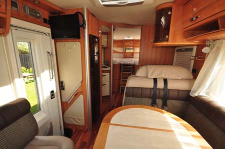 Hymer Starline Interior