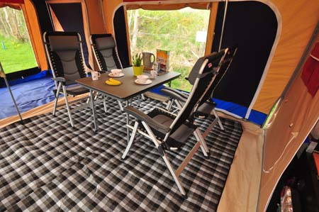 Trigano Galleon Camper Dining Area