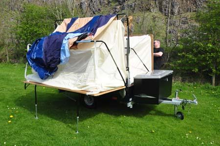 Trigano Galleon Camper setup 1
