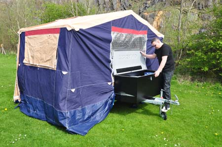 Trigano Galleon Camper setup 2