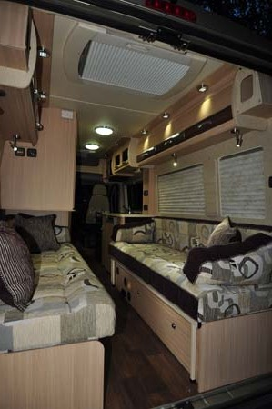 Auto-Sleeper Warwick Duo Interior