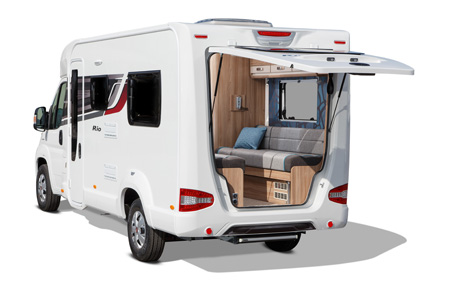 Rio 320 - EXT Rear with Tailgate Open