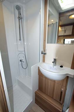 Lunar Lexon Shower Room