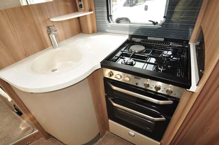 Swift Bolero 684 Kitchen