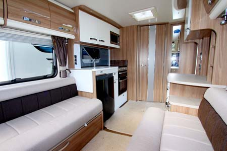 Swift Elegance 480 Interior Looking Back 1