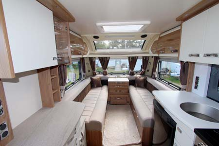 Swift Elegane 480 Interior looking forward