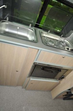 Leisuredrive Vivante Hi Line Kitchen 2