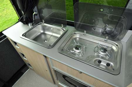 Leisuredrive Vivante Hi Line Kitchen