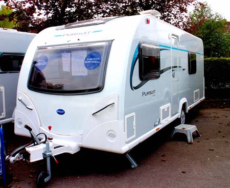 Bailey Pursuit 530-4 - Exterior