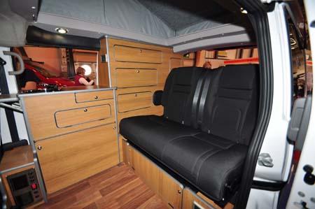 ENC Touring Cub Rear Seats