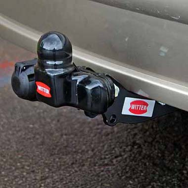 Witter Flange towbar