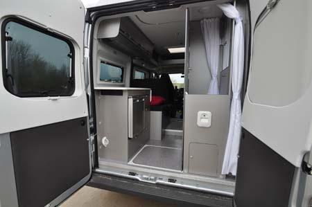 Adria Twin 500 S Inside