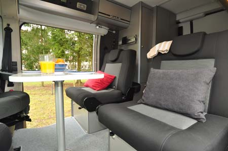 Adria Twin 500 S Seating