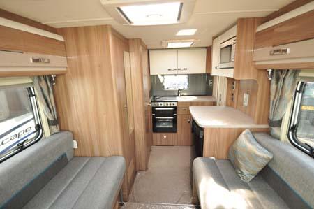 Swift Esprit 412 Interior Looking Back