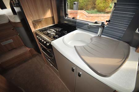 Swift Kon-Tiki 635 Kitchen