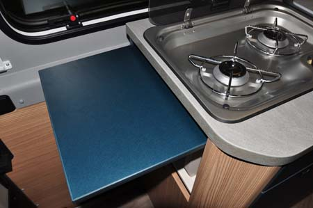 Knaus BoxLife 630 ME worktop