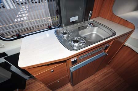 Weinsberg Carabus 541 MQ Kitchen