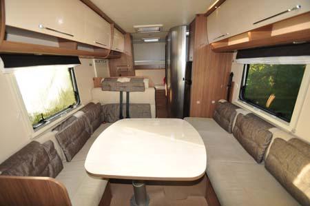 Itineo SB700 motorhome interior 2
