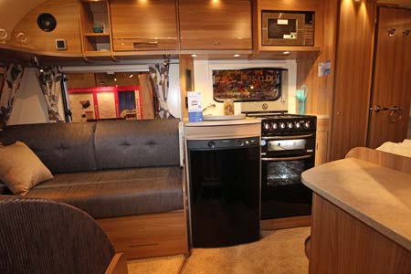 Bailey Pegasus Modena Interior Kitchen