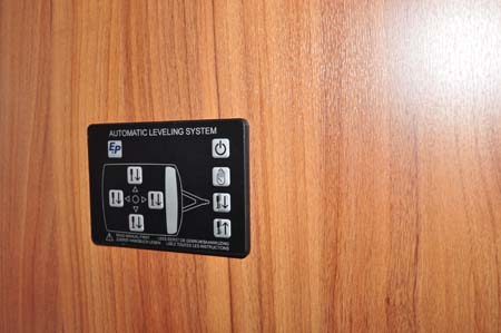 Buccaneer Clipper Caravan Heater Controls