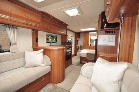 Buccaneer Clipper Caravan Interior 2