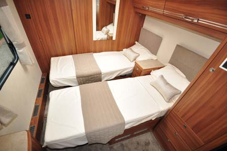 Buccaneer Clipper Caravan Twin Beds